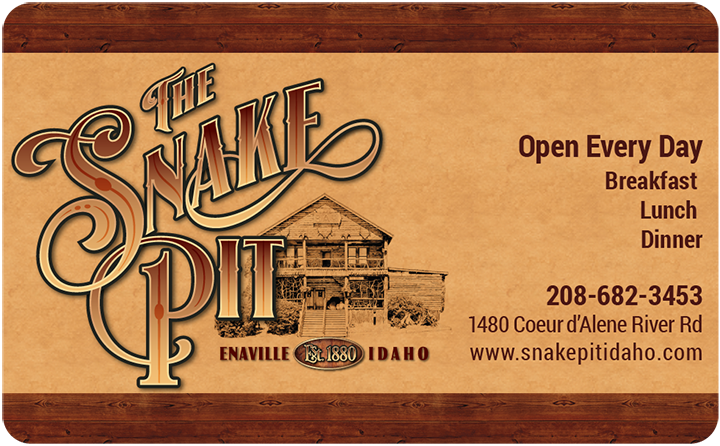 The Snake Pit - Gift Card